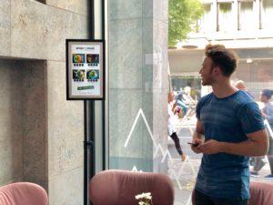 Frankfurt PrepMyMeal FRAMEN Bildschirm Menü Content Management