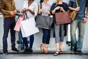 Kundenloyalität Zielgruppenspezifisch Qualität Shopping Lokal Stadt Innenstadt Einkaufstausche