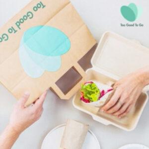 TGTG Too Good To Go DOOH Kampagne essen Lebensmittel retten Framen