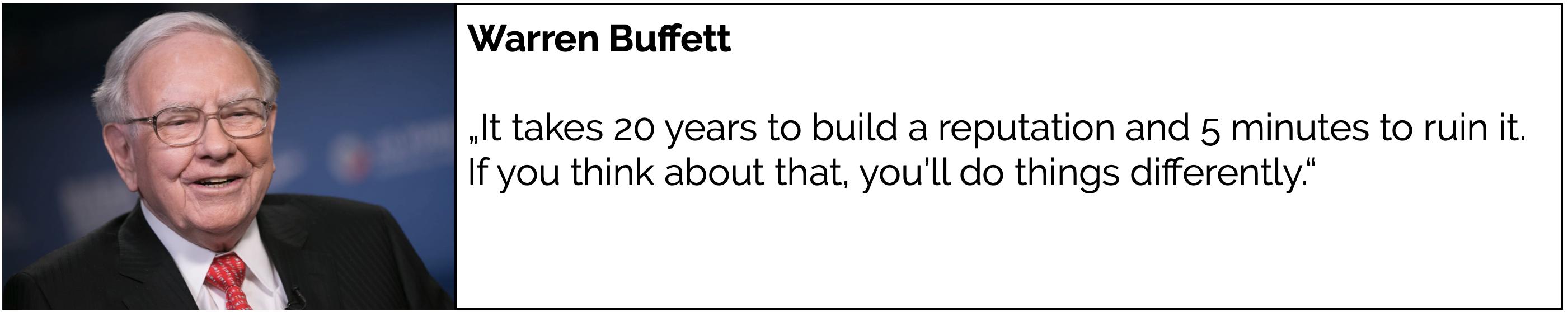Framen Warren Buffett Brand Safety Reputation Advertising Digital Out of Home