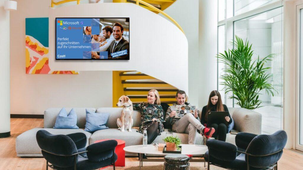CosH Kampagne Campaign MGN Mediengruppe Nürnberg FRAMEN Werbung DOOH WeWork Advertising