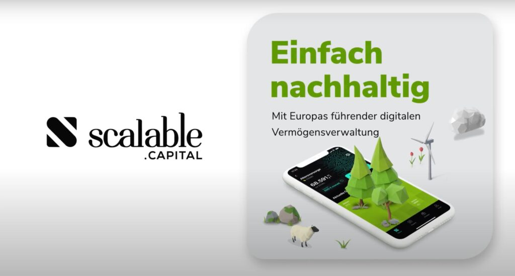 Scalable Capital FRAMEN Kampagne