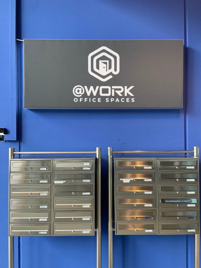 @Work CoWorking Space Office Büro Rostock Tino Schößner Lars Buchfink Framen Umsatz Geld Gewinn arbeiten Unternehmen Fläche Miete